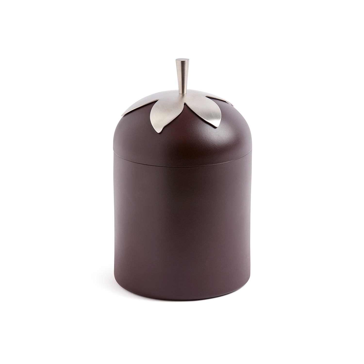 Blad Jar Brown Square